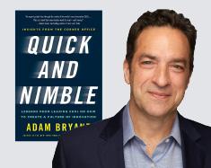 Adam Bryant quick and nimble